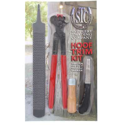 Hoof Trim Kit Professional Complete Knife Rasp Horse Equine DIY Farrier Tools