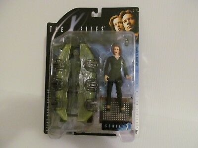 """1998 The X-Files """"Fight The Future"""" Agent Dana Scully Action Figure-SEALED, NIP!"""