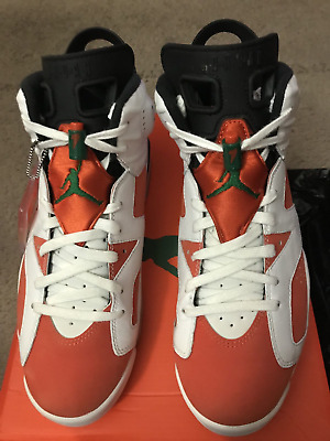 6240ea47169 Nike Air Jordan 6 VI Retro Gatorade Summit White Orange 384664-145 Size 9.5
