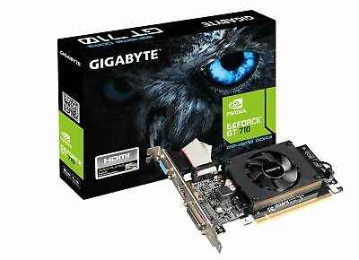 Gigabyte nVidia GeForce GT 710 Low Profile 2GB DDR3 Gaming Graphics Video Card