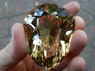 Rare natural Golden Citrine Collector or Museum gem..786 Carats!  Half Price Now