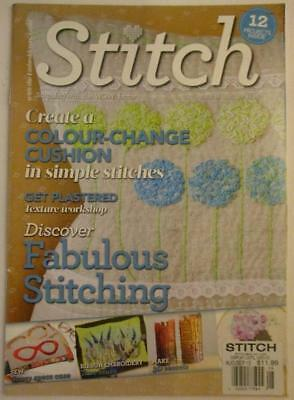 Stitch with the Embroiderers Guild Embroidery Magazine Aug/Sept 2015 No 96 UK