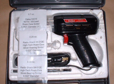 Vintage Weller Soldering Gun (8200 N) Kit with Case (120V, 100/140 Watt)