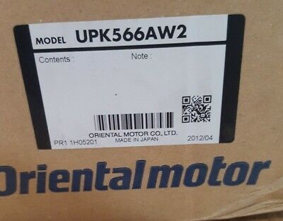 Oriental Motor Upk566Aw2 5-Phase Stepping Motor And Driver (Br2.4B7)