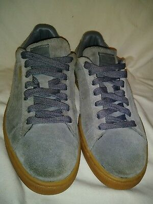PUMA SPORT LIFESTYLE Eco Ortho Life Grey Suede Leather Fashion ... 0344c4283