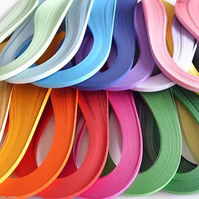 3 Size DIY Quilling Paper 120 Stripes Multi Color Origami Hand Craft Pretty %A #