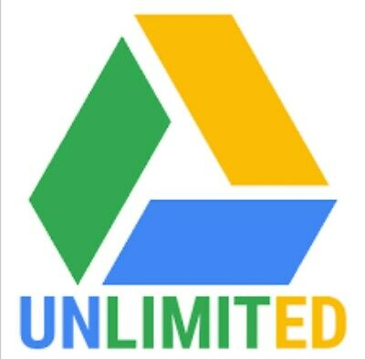 💥💥UNLIMITED  DRIVE💥💥 STORAGE ON GOOGLE DRIVE FOR YOUR EXISTING acc