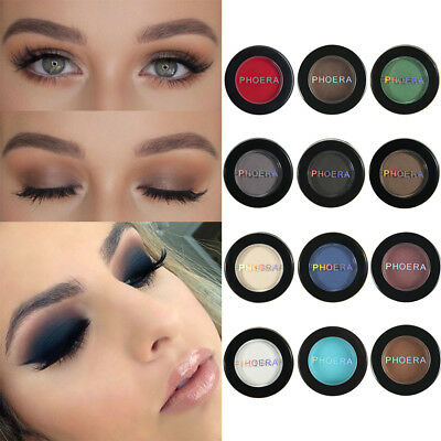 12 Color Eyeshadow Cream Eye Shadow Makeup Cosmetic Matte Palette Shimmer HOT FG