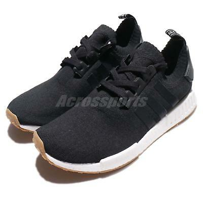 3c376adb3850a adidas Originals NMD R1 PK PrimeKnit BOOST Black Gum Men Running Sneakers  BY1887