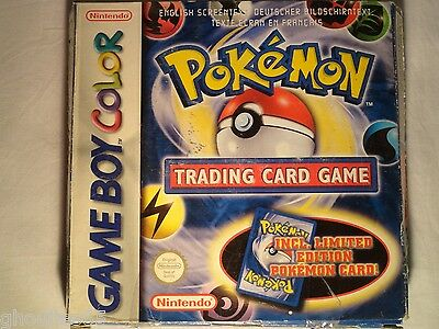Pokemon Trading Card Game Gbc Pokemon Trading Card Game Nintendo Game Boy Color