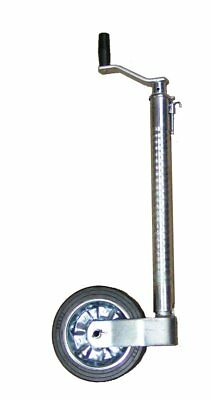 Maypole 48mm Heavy Duty Ribbed Jockey Wheel