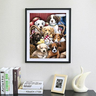 Lovely Dog Pattern Modern Art Painting Resin Diamond Painting Embroidery DIY FW