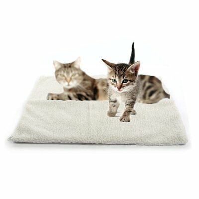 Self Heating Dog Cat Blanket Pet Bed Thermal Washable R1