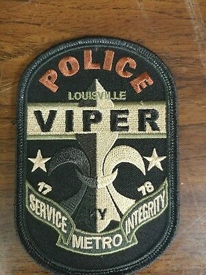 louisville ky police viper patch
