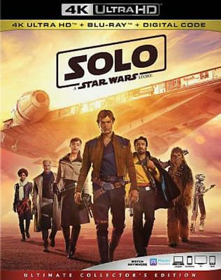 Solo: A Star Wars Story New Dvd