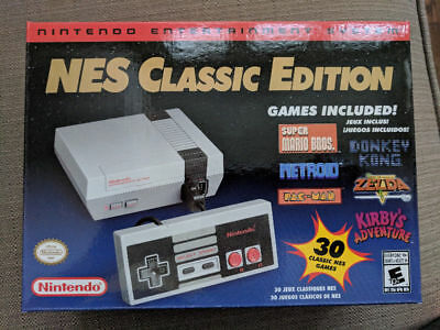 Nintendo Entertainment System: Nes Classic Edition - Brand New - Fast Shipping