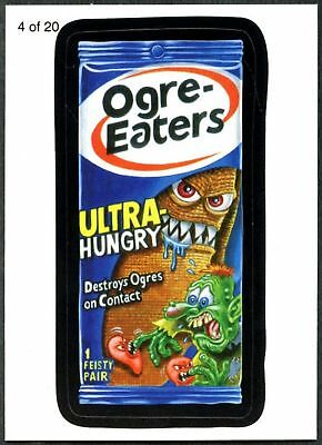 Ogre-Eaters#4 Wacky Packages Series 7 Wack-O-Mercials Sticker Chase Card (C1775)
