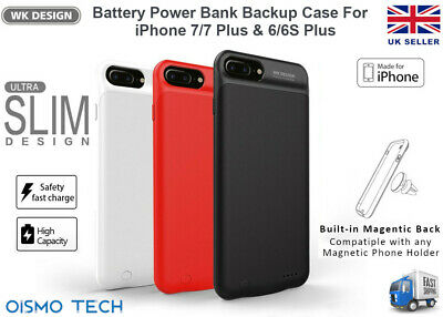 Remax WK Power Bank Phone Back Cover Case For iPhone 7/6S & iPhone7/6S Plus