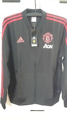 4c2d26c57 Adidas Manchester United 2018-19 Men Football Soccer PRESENTATION JACKET  CW7628