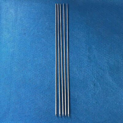 "Lot of 5, DePuy 14012-14 Threaded Guide Pin 1/8"" X 14"", Surgical, Orthopedic O/R"