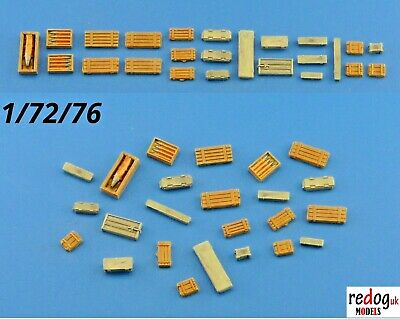 Redog 1:72 crates and boxes kit modelling /  diorama detailing accessories /b5