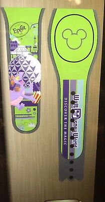 NEW DISNEY PARKS Figment Epcot Disney World Magicband 2 Green