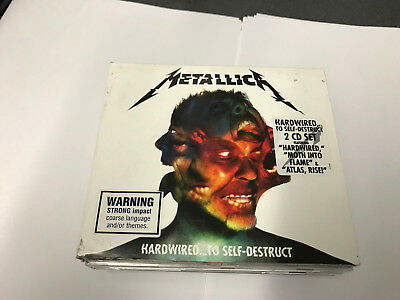 Metallica Hardwired...to Self-Destruct 2Cd Set  - 602557156263 -  -  -