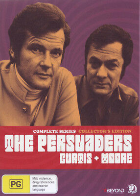 The Persuaders: Complete Series (Collector's Edition)  - DVD - NEW Region 4