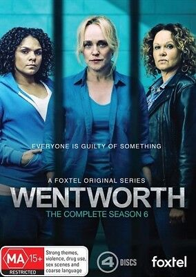 Wentworth: Season 6  - DVD - NEW Region 4