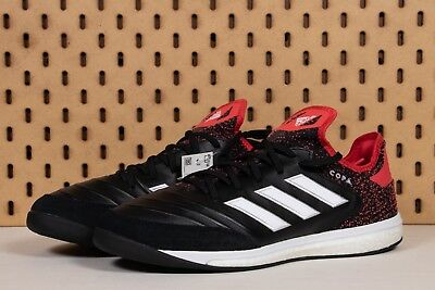 size 40 59766 d837d Adidas Copa Tango 18.1 TF Turf Soccer Shoes Black Red White SZ 10.5 (  CM7668 )