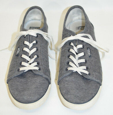Vans Sneakers Shoes Gray Lace-Up 721356 Ortholite Insole Women's 6.5