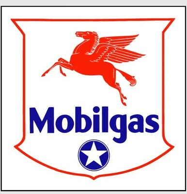 Mobilgas rare Mobil Gas pegasus oil gasoline advertising sign