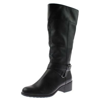 Womens Madixe Faux Leather Knee High Riding Boots Shoes BHFO 4685 Style /& Co