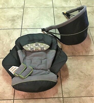Front CANOPY & SEAT - from Graco Ready 2 Grow Double Stroller