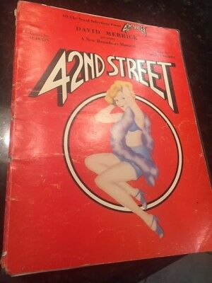 42nd Street Vocal Selections 800 Picclick