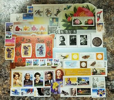 Stamps Of Canada 2008 Annual Yearbook Stamp Collection