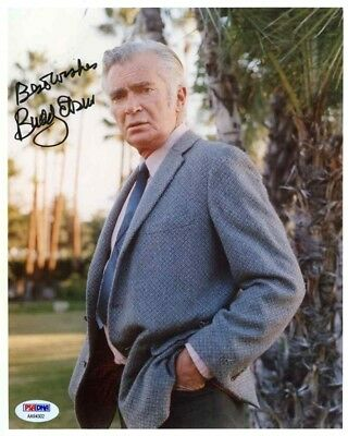 Buddy Ebsen Beverly Hillbillies Autographed Signed 8x10 Photo PSA/DNA COA AFTAL