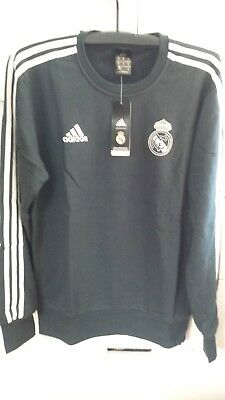 f905f8e8927 Adidas Real Madrid 2018-19 Men Football Soccer TRAINING SWEATER TOP CW8691