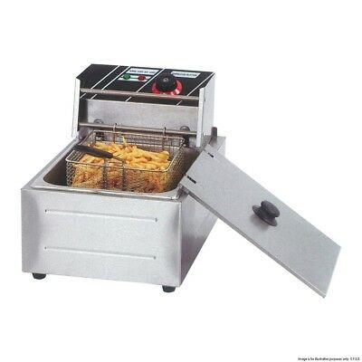Brand New Commercial Single 6L /Double Tank 12L Benchtop Electric Deep Fryer