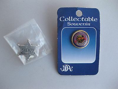 Northspur Station Hat Pin and Sheriff Star