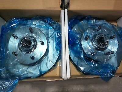 NEW PAIR FRONT BRAKE ROTORS SUIT ALL HOLDEN HQ HJ HX HZ WB .. EQUIV to RDA14