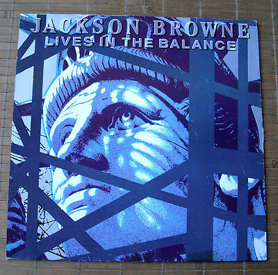 Jackson Browne - Lives In The Balance (Vinyl Lp)
