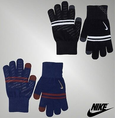 Boys Nike Gym Silicone Grip Knitted Gloves Sports Sizes Age from 7 to 14 Yrs