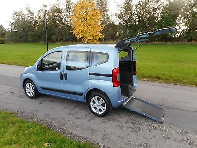 2013 Fiat Qubo Mylife 1.3 TD WHEELCHAIR ACCESSIBLE ADAPTED DISABLED VEHICLE WAV