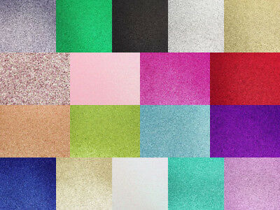 A4 Glitter Card 250GSM Quality Low Shed Arts Crafts Cardstock