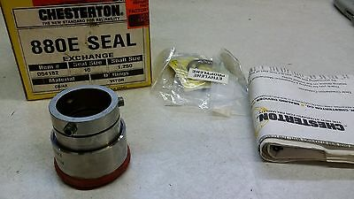 "Chesterton 880 Seal 054182  Seal Size-10 Shaft Size 1.250"" Remanufactured"