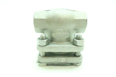 Powell 2341 Stainless Swing Gate Check Valve 1/2in Npt 200