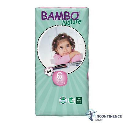 Bambo Nature Size 6 - Junior Nappies (16-30kg) - Pack of 44