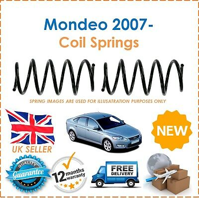 FOR FORD MONDEO 2000-2007 GS8008R NEW CD REAR COIL SPRINGS BAGGED PAIR