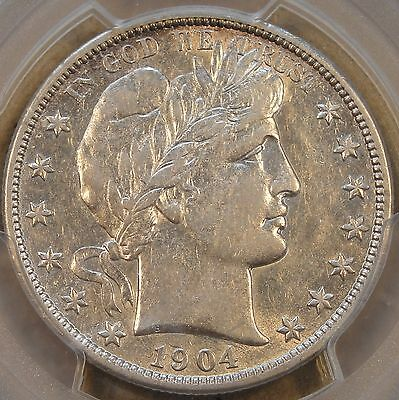 1904-O Barber Half Dollar PCGS XF45 Coin would sit well in an AU set! All but Wh